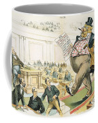 Tariff Lobbyist, 1897 Coffee Mug