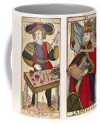 Tarot Cards, C1700 Coffee Mug