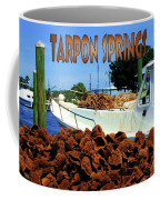 Tarpon Springs Postcard Coffee Mug