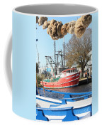 Tarpon Springs Shrimp Boat Coffee Mug