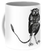 Tarsier With Vintage Camera Coffee Mug