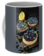Tart With Blueberries Coffee Mug