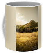 Tasmania West Coast Mountain Range Coffee Mug