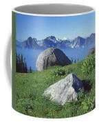 1m4862-tatoosh Range And Mt. St. Helens  Coffee Mug
