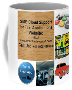 Taxi Booking Application Coffee Mug