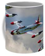 Tbirds Lockheed T-33 Shooting Star Coffee Mug