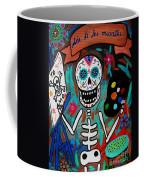 Te Amo Painter Dia De Los Muertos Coffee Mug