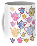 Tea For Two Coffee Mug by Sarah Hough