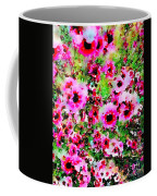 Tea Tree Garden Flowers Coffee Mug