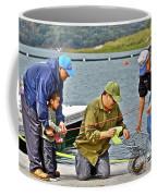 Teach Him To Fish Coffee Mug