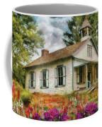 Teacher - The School House Coffee Mug by Mike Savad