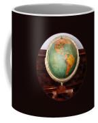Teacher - Globe On Piano Coffee Mug