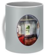 Teacher - One Room Schoolhouse With Hurricane Lamp Coffee Mug by Susan Savad