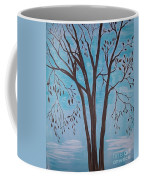 Teal And Brown Coffee Mug