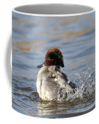 Teal Awash Coffee Mug