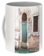 Teal Door Coffee Mug