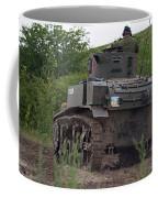 Tearing It Up - M3 Stuart Light Tank Coffee Mug