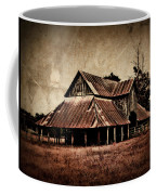 Teaselville Texas Barns Coffee Mug