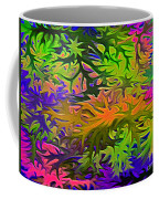 Technicolor Leaves Coffee Mug