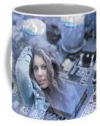 Technology Girl Coffee Mug