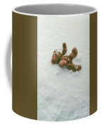 Teddy Bear In Snow Coffee Mug