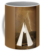 Tee Pee Lightning Coffee Mug