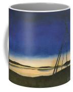Teepee Poles Coffee Mug