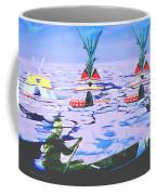 Teepees On Ice Coffee Mug