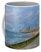 Tel Aviv Beachline Coffee Mug