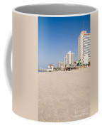 Tel Aviv Coastline Coffee Mug