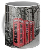 Telephone Boxes Coffee Mug