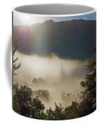 Temperature Inversion Traps Mist Over Ambleside Coffee Mug