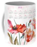 Template For Calendar 2013 Coffee Mug