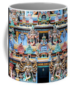 Temple Facade Chennai India Coffee Mug