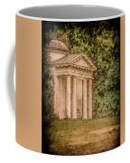 Kew Gardens, England - Temple Of Bellona Coffee Mug by Mark Forte