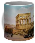 Temple Of Isis On The Nile River Coffee Mug