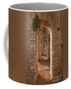 Temple Of Jupiter Anxur Coffee Mug by Yair Karelic