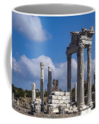 Temple Of Trajan View  Coffee Mug