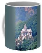 Temple In The Distance - Rishikesh India Coffee Mug