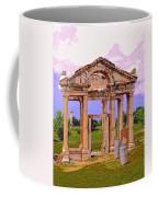 Temple Ruins At Ephesus Coffee Mug
