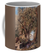 Temples And Burial Ground Near Poona Coffee Mug