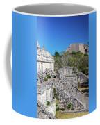 Temples In Ek Balam Coffee Mug