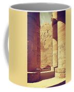 Temples Of Karnak  Coffee Mug