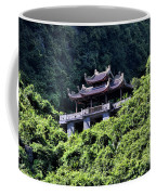 Temples Of Tam Coc Vietnam  Coffee Mug
