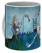 Tending Coffee Mug by Delight Worthyn