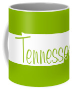 Tennessee In White Coffee Mug