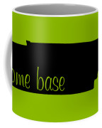 Tennessee Is Home Base Black Coffee Mug