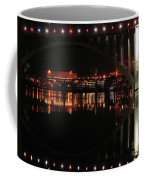 Tennessee River In Lights Coffee Mug