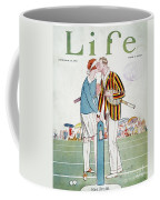 Tennis Court Romance, 1925 Coffee Mug