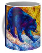 Tentative Step - Black Bear Coffee Mug